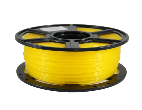 Flashforge PLA Transparent Gelb 1.75 mm 1 kg