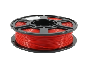 Flashforge PLA Transparent Rot 1.75 mm 0.5 kg