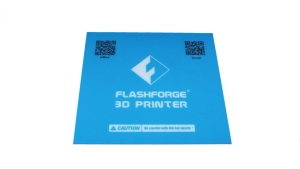 Flashforge Finder Bauoberfläche/Sticker Blau